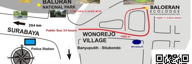 Baloeran Ecolodge Location